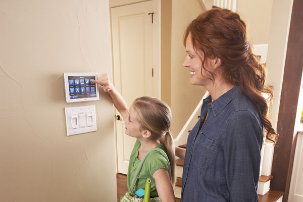 Central Air Conditioner Products - Mother & Daughter changing settings